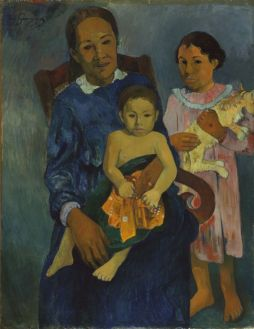 Polynesian_Woman_with_Children_1901_Paul_Gauguin