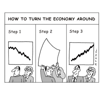 how-to-turn-the-economy-around-cartoonstockcom-dbrn835t1